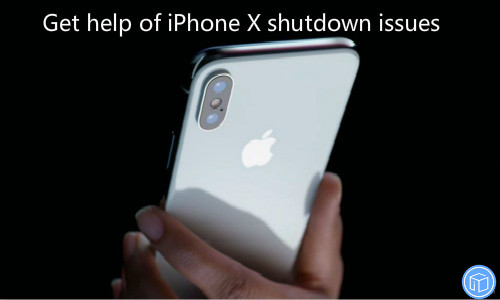 fix iphone x shutdown issue