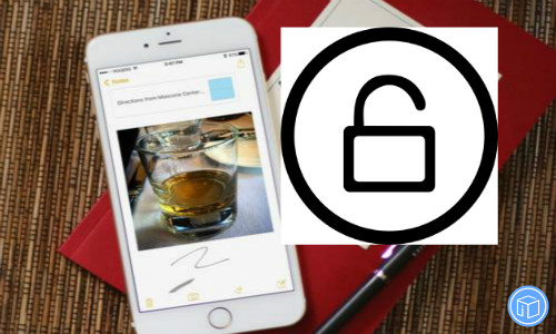 make sure that your notes are secure on your iphone/ ipad/ ipod touch